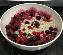 Buzymum - Porridge with mixed berries
