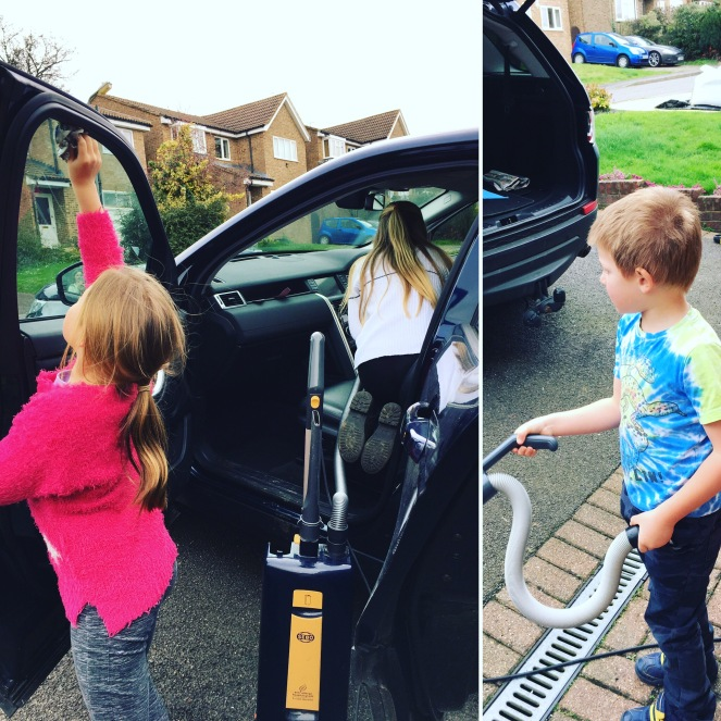 Buzymum - Car cleaning with all the family!