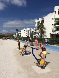 Buzymum - Beach gym equipment- if that's your thing?
