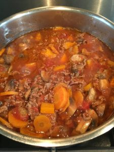 Buzymum - Bolognese ready to be served