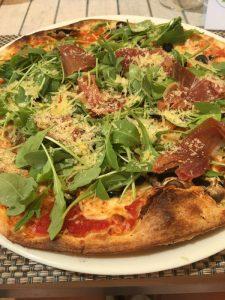 Buzymum - One of many pizzas available at Viva Sunrise hotel