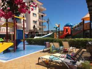 Buzymum - Children's splash and play area at Viva Sunrise