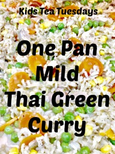 Buzymum - One Pan Mild Thai Green Curry