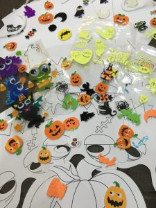 Buzymum - Halloween arts and crafts