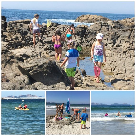 Buzymum - Collage of activities in Baiona
