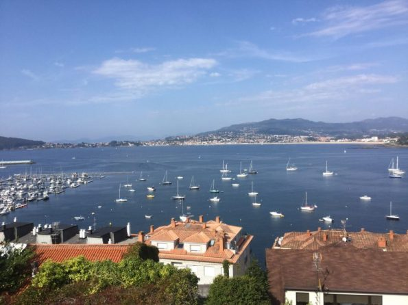 Buzymum - View from Gady's house of the bay in Baiona