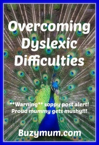 Buzymum - Overcoming dyslexic difficulties