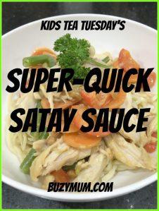 Buzymum - Super-Quick Satay Sauce