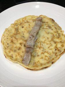 Buzymum - pork, pancake