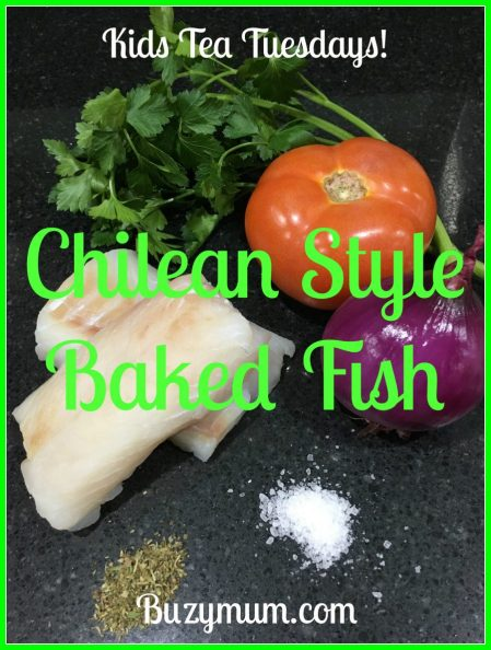 Buzymum - Chilean Style Baked Fish