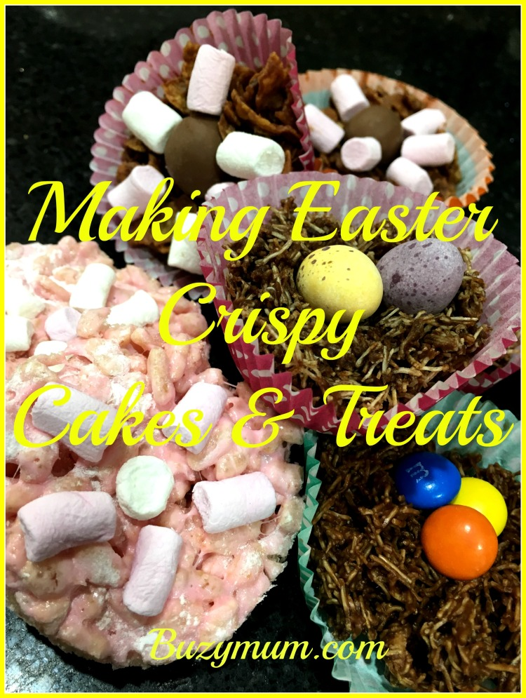 Buzymum - Making Easter Crispy Cakes & Treats
