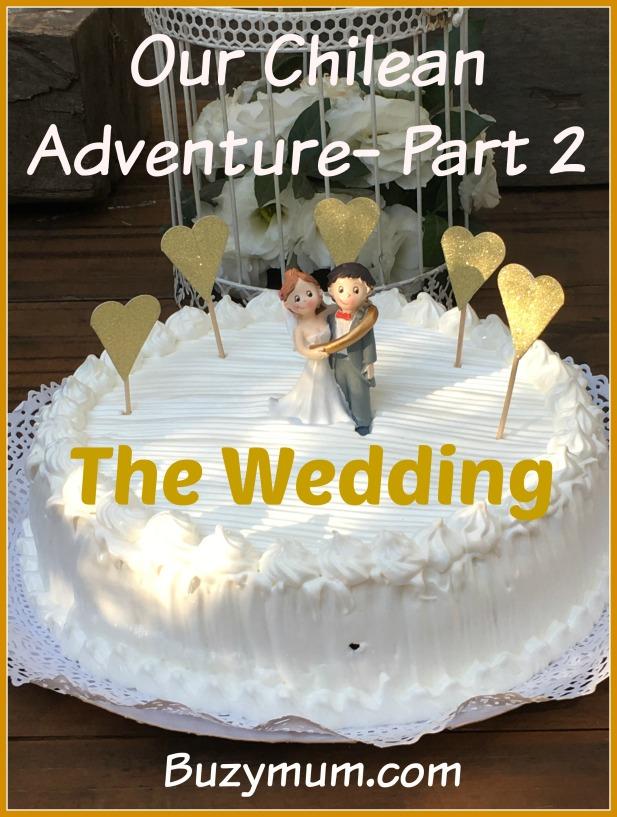 Buzymum - Our Chilean Adventure - Part 2 - The Wedding
