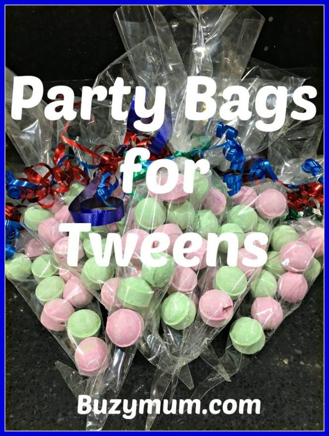 Buzymum - Party bags for tweens