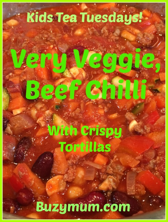 Buzymum - Very Veggie, Beef Chilli