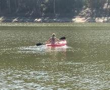 Buzymum - Kayaking on the lake on the farm