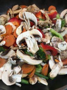 Buzymum - All veg in the stir fry