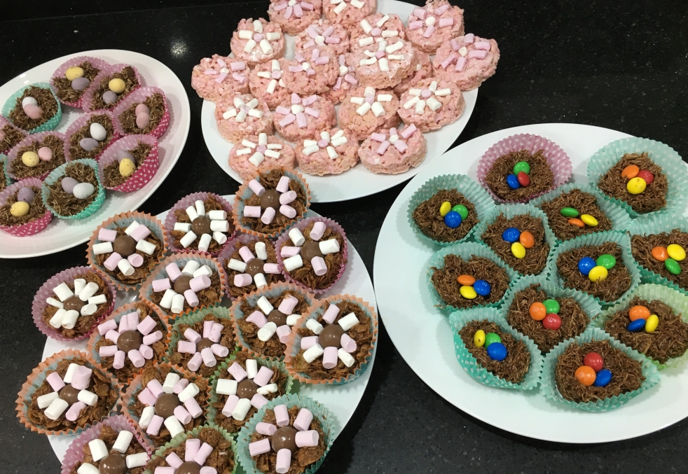 Buzymum - Chocolate and marshmallow Easter treats