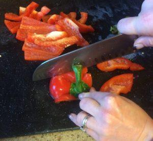 Buzymum - Chopping pepper