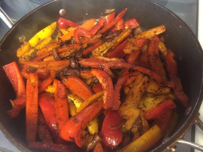 Buzymum - Veg and seasoning for fajitas