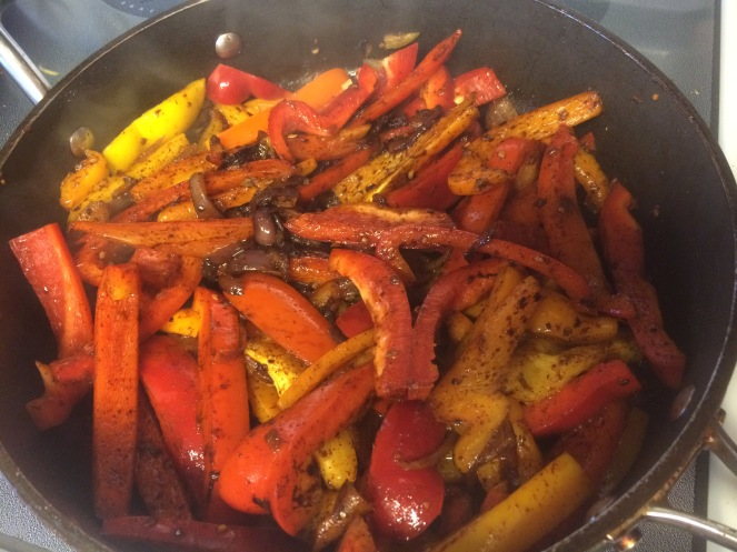 Buzymum - Veg and seasoning for fajitas