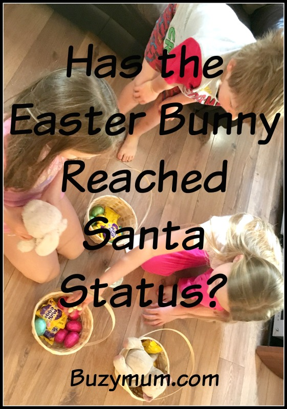 Buzymum - Has the Easter Bunny Reached Santa Status?