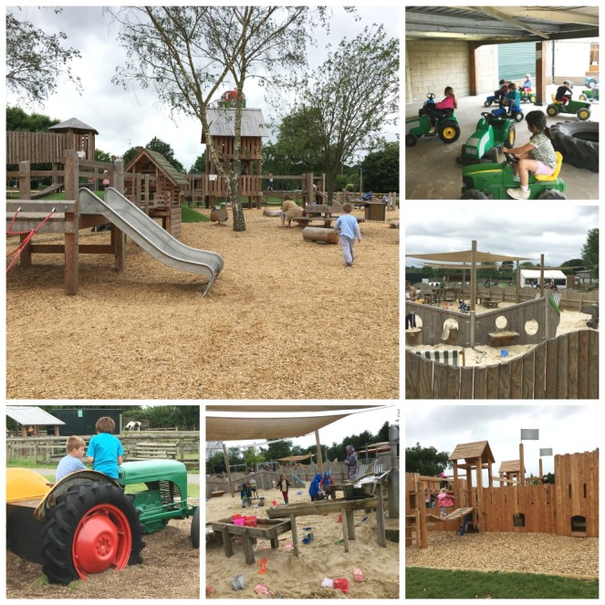 Buzymum - Outdoor play stuff at Odds Farm