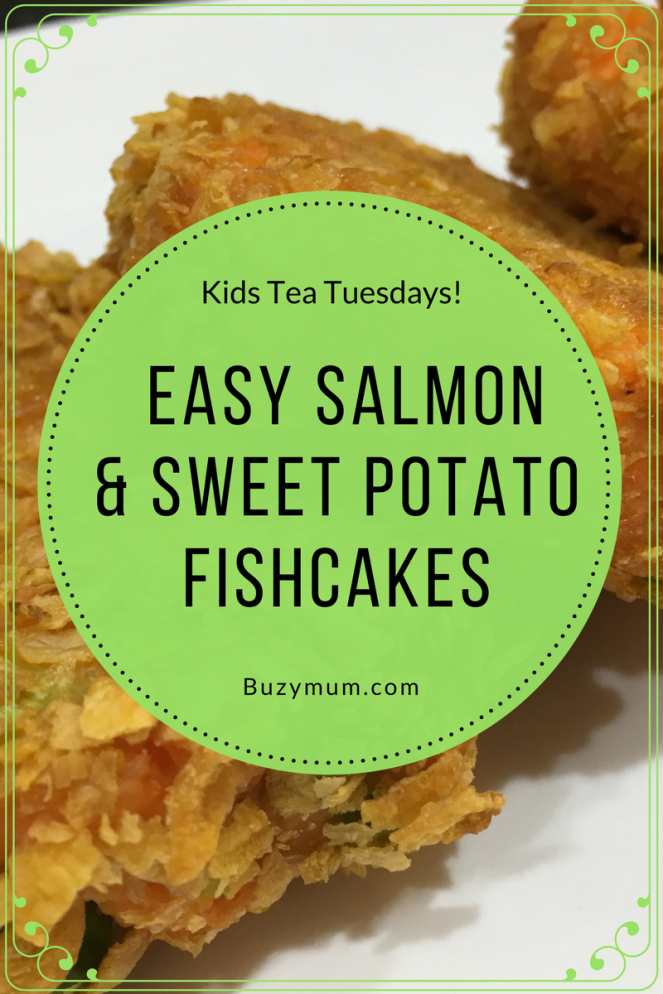 Buzymum - Easy Salmon and Sweet Potato Fishcakes