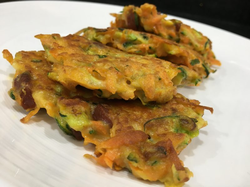 Buzymum - Fritters image ready to serve