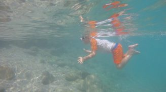 Buzymum - Great shot of the Boy snorkelling!