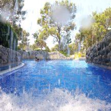 Buzymum - Swimming through the waterfall at Liberty Lykia