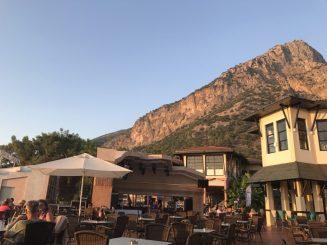 Buzymum - Mountains surround the hotel