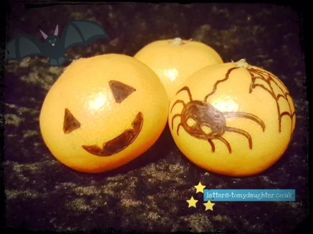 Buzymum - Halloween satsumas!